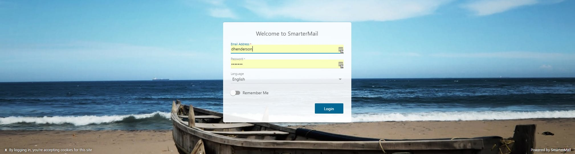 Smartermail New WebMail Interface