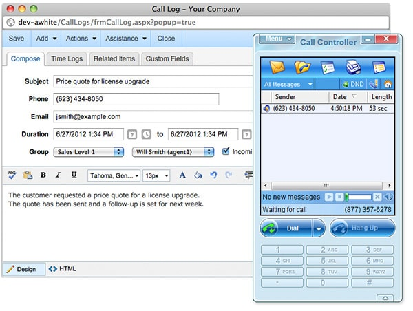 Call tracking software free download for android
