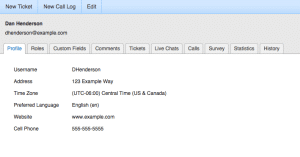 SmarterTrack View All User Information